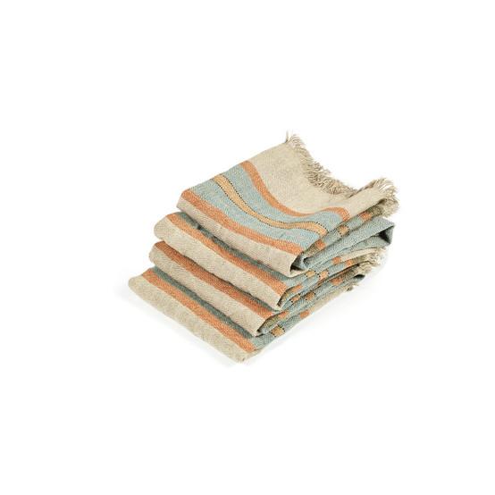 The Belgian Towel Small Fouta in Multi