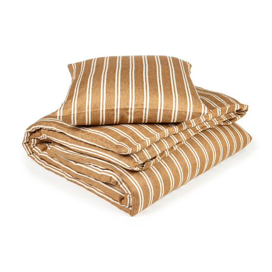 Canal Stripe Duvet Cover