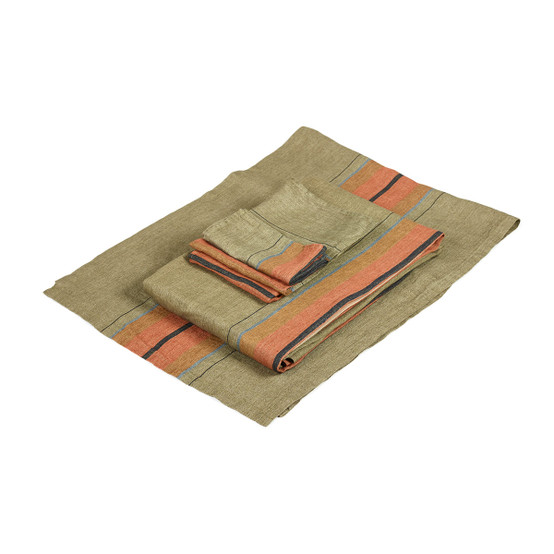 St. Jacob's Stripe Tablecloth