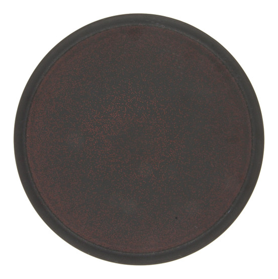 Tout Simple Serving Platter in Rouge Cinabre