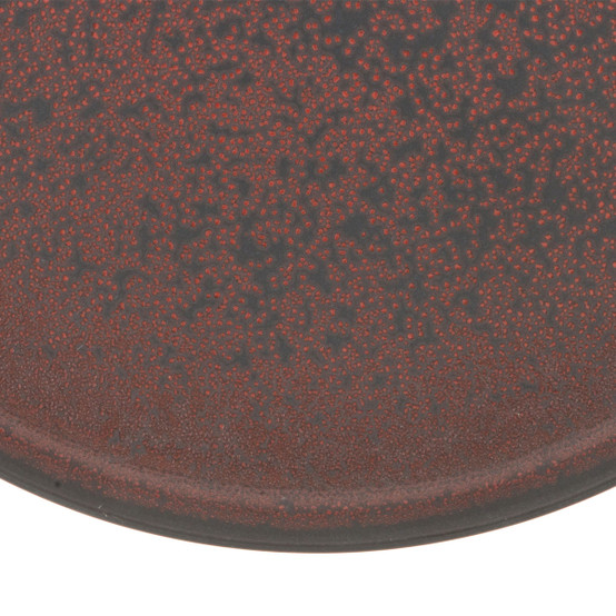 Tout Simple Dinner Plate in Rouge Cinabre