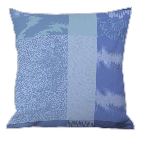 "Mille Matieres 20""x20"" Cushion Cover in Abysses"