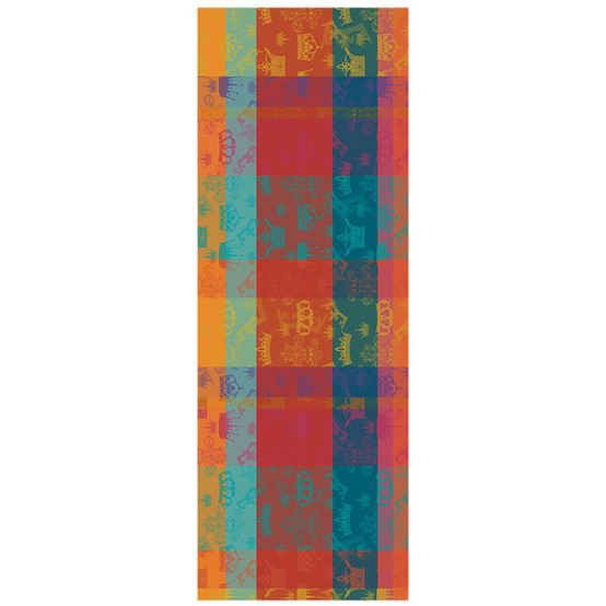 Mille Couronnes Table Runner in Jubile