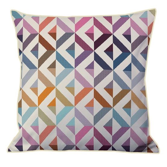 "Mille Twist 16""x16"" Cushion Cover in Warm"