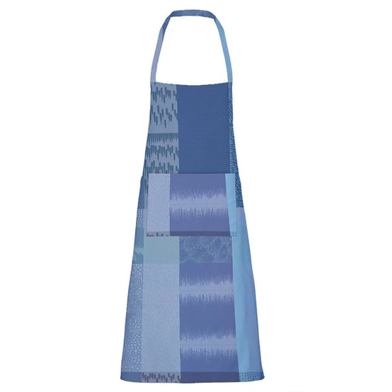 Mille Matieres Coated Apron in Abysses