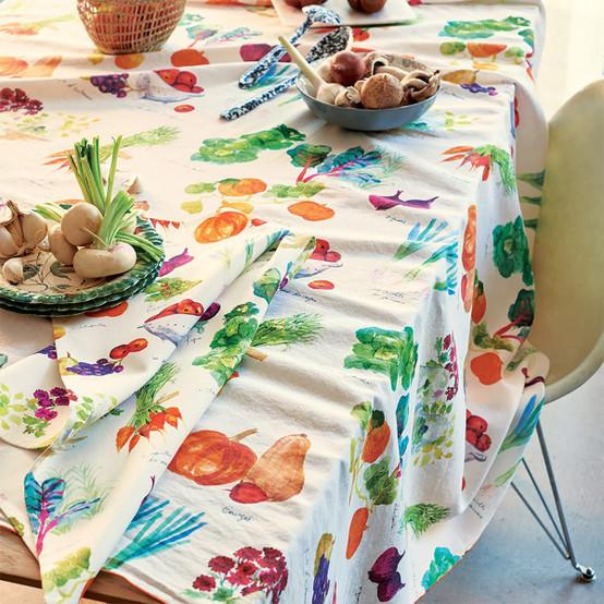 Mille Jardin Potager Tablecloth