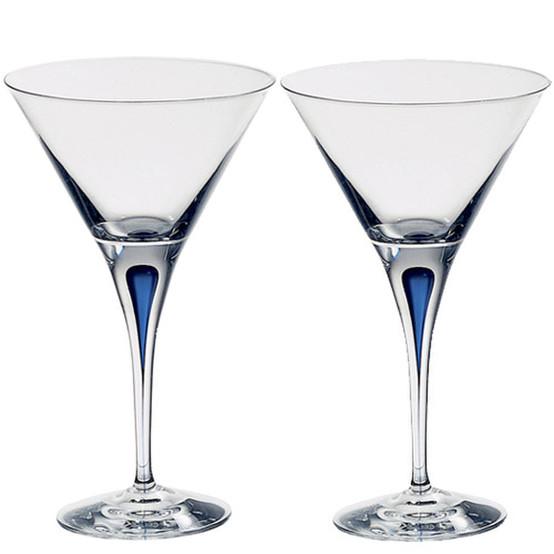 Intermezzo Blue Martini Set of 2