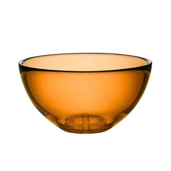 Large Bruk Serving Bowl in Amber