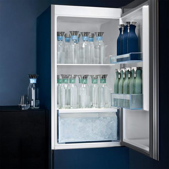 Fridge Carafe in Silicone Aqua Blue