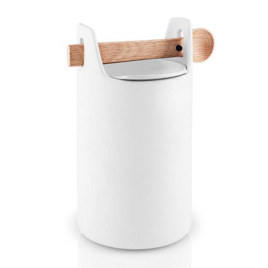 Large Toolbox with Spoon and Lid in White