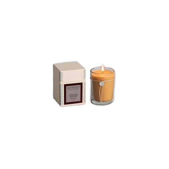 Venetian Leather 6.8oz Candle