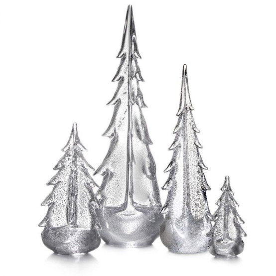 Evergreen Silver Leaf Tree in Gift Box