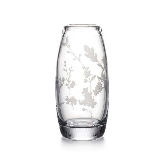 Engraved Floral Addison Vase