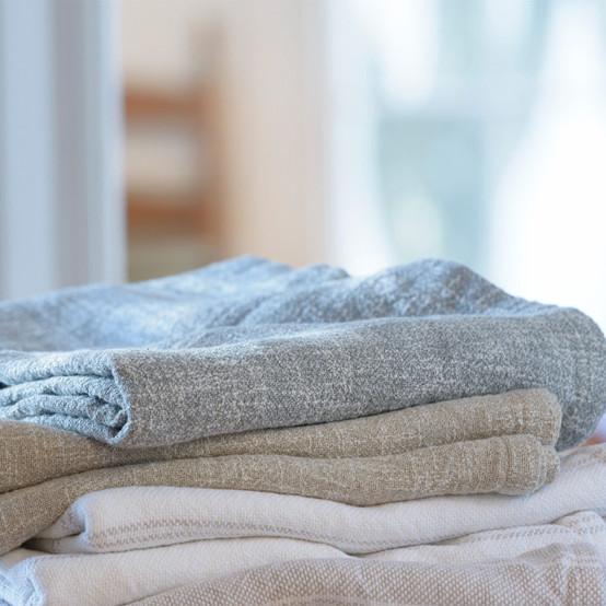 Lexington Cotton/Linen Blanket