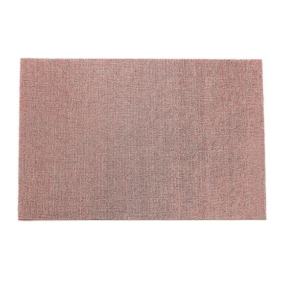 Heathered Shag Mat in Blush