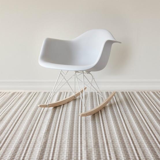 Heddle Floor Mat in Pebble
