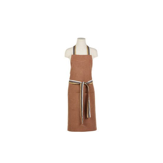 Leroy Apron in Red Earth