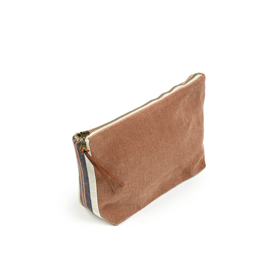 Leroy Cosmetic Bag in Red Earth