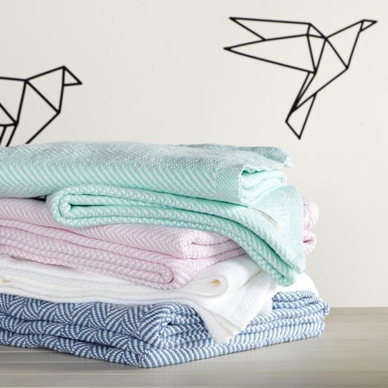 Penobscot Cotton Baby Blanket