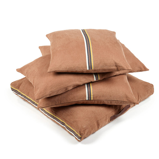 Leroy Pillow cover Red earth