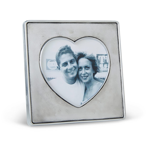 Heart in Square Frame