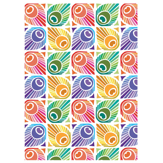 Mille Peacock Kitchen Towel