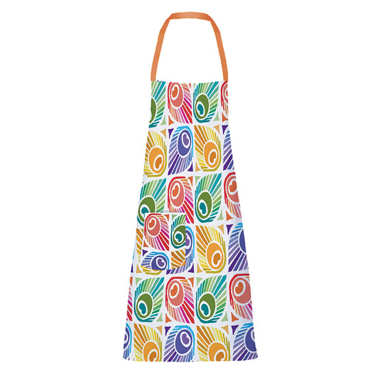 Mille Peacock Apron with Pocket