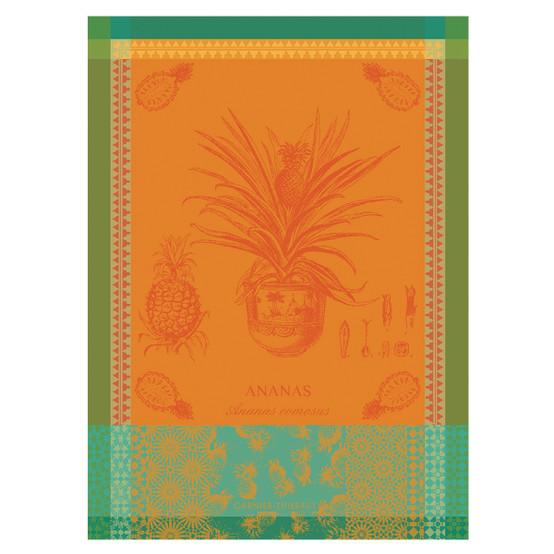 Ananas En Pot Jaune Soleil Kitchen Towel