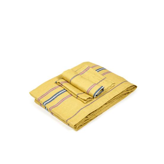 The Patio Stripe Tablecloth