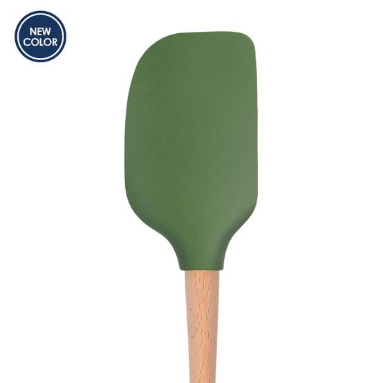 Flex-Core Wood Handled Spatula in Pesto