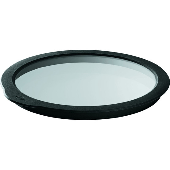 Glass Lid with Silicone, 9.4 inch
