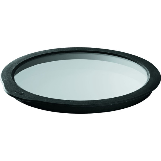 Glass Lid with Silicone, 7.9 inch