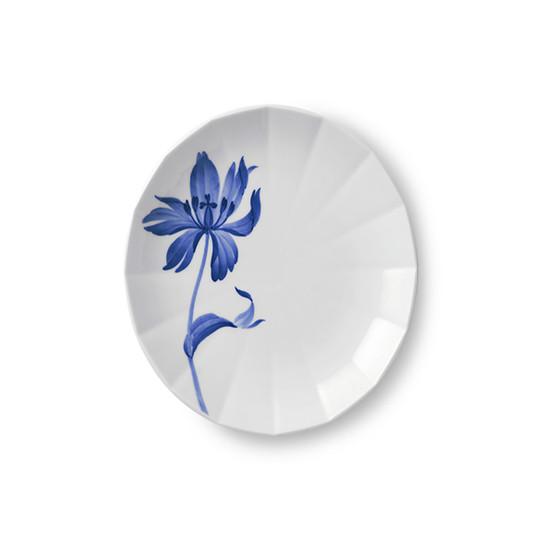 Blomst Dessert Plate in Tulip