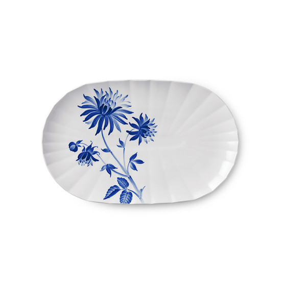 Blomst Serving Dish in Dahlia