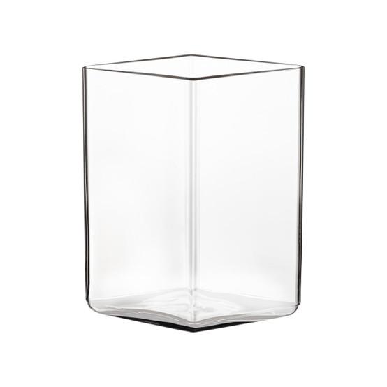 Ruutu 4.5 inch Vase in Clear