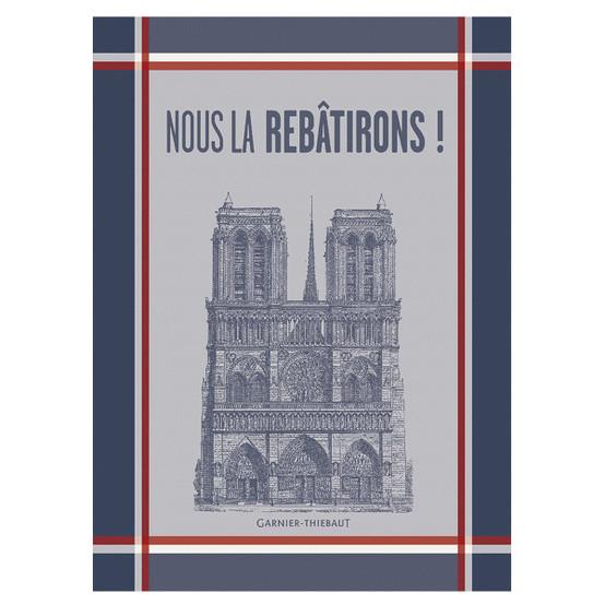 Notre Dame 2019 Kitchen Towel
