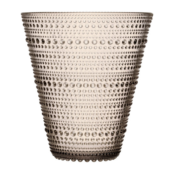 Kastehelmi 6 inch Vase in Linen