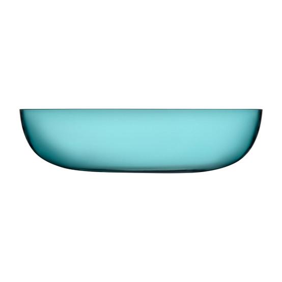 Raami Serving Bowl in Sea Blue