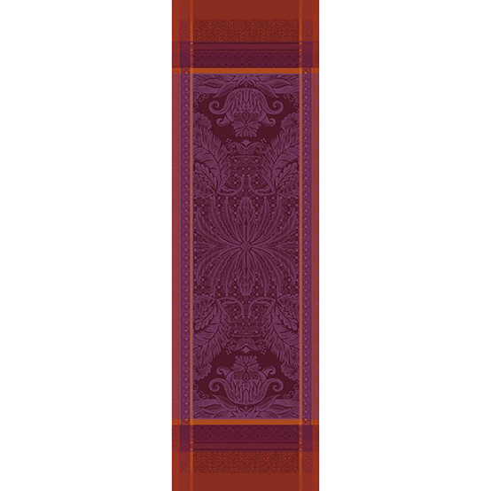 Isaphire Pourpre Table Runner 21 X 71 Green Sweet
