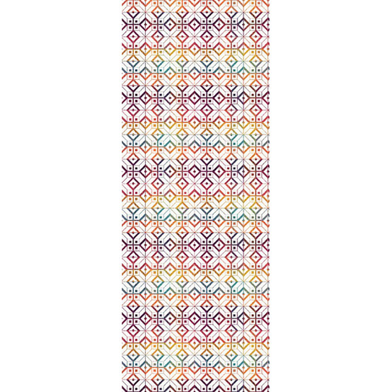 Mille Paves Flamboyant Table Runner 22 X 61