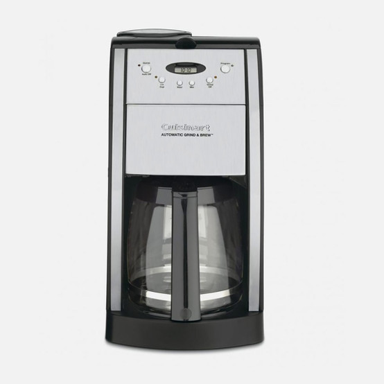 12-Cup Grind and Brew Automatic Coffeemaker (Black)