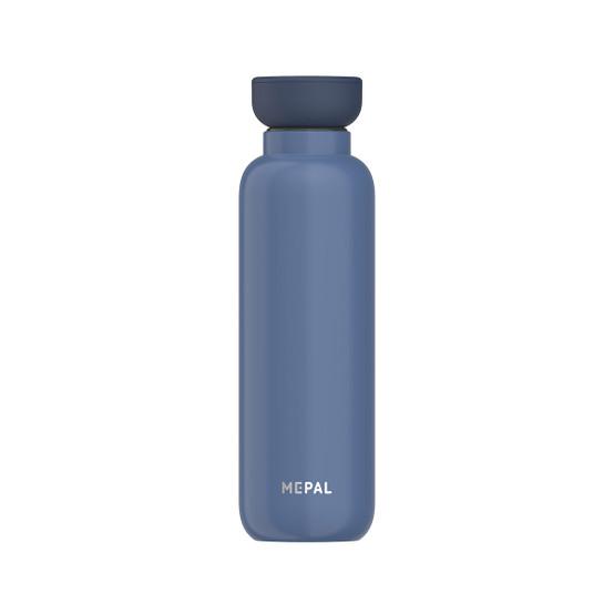 Medium Ellipse Insulated Water Bottle in Nordic-Denim