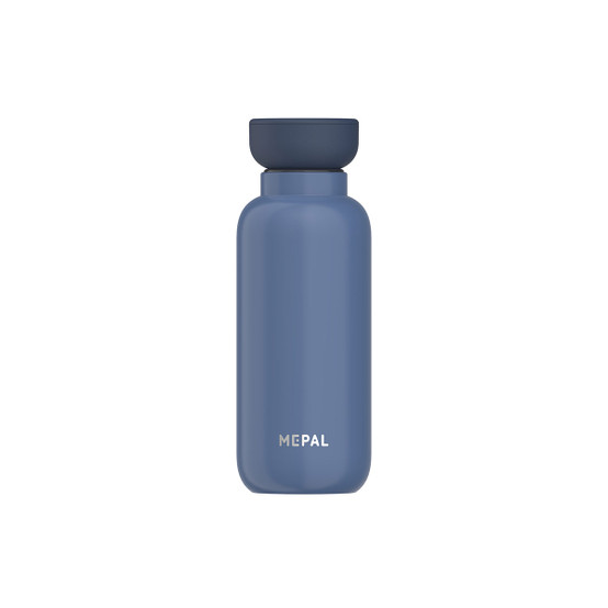 Small Ellipse Insulated Water Bottle in Nordic-Denim