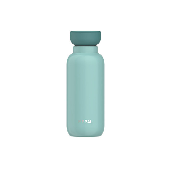 Small Ellipse Insulated Water Bottle in Nordic-Green