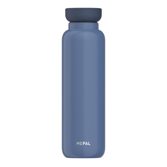 Large Ellipse Insulated Water Bottle in Nordic-Denim