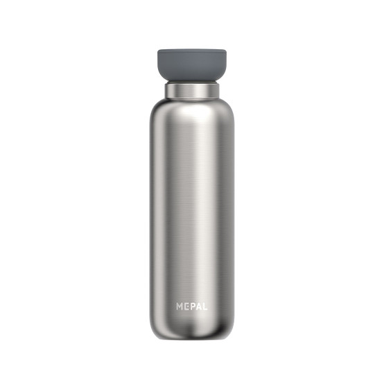 Medium Ellipse Insulated Water Bottle in Brushed Stainless Steel