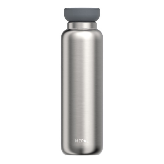 Large Ellipse Insulated Water Bottle in Brushed Stainless Steel