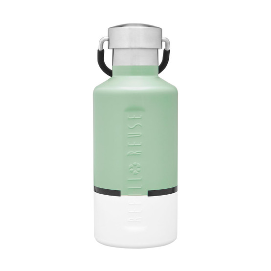Stainless Steel Insulated Classic Bottle in White