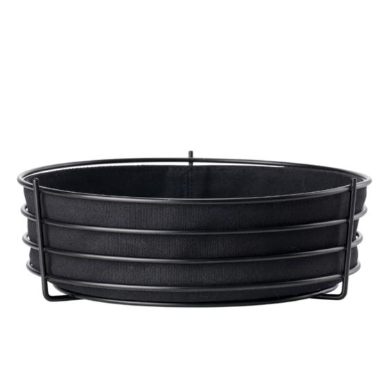 Singles Bread Basket in Black