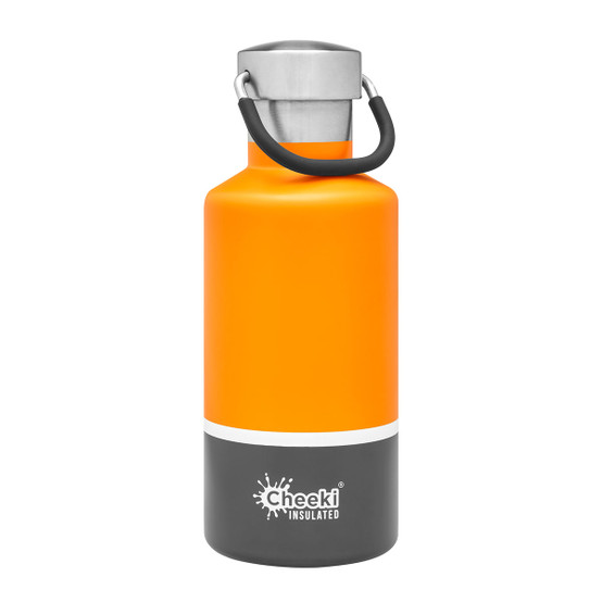 Stainless Steel Insulated Classic Bottle in Sunshine